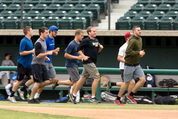Weighted Baseball Training